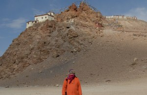 3 Swami Ayyappa at Monistery by Lake Manasarovar 2012