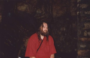 Swami Ayyappa Giri meditated in an Himalayan cave.