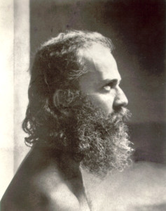 Yogiar emerging from samadhi - 1958