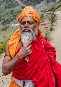 12 Truly high calabre Sadhus attend the  Amarnath Yatra