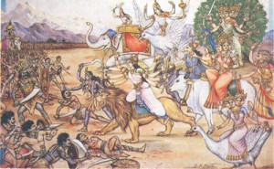 00 Kali & Durga Lead the Matrikas in Battle against the Demon army